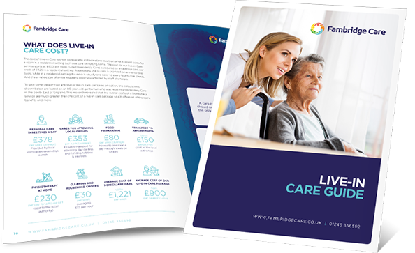 Live-in Care Home Guide Brochure