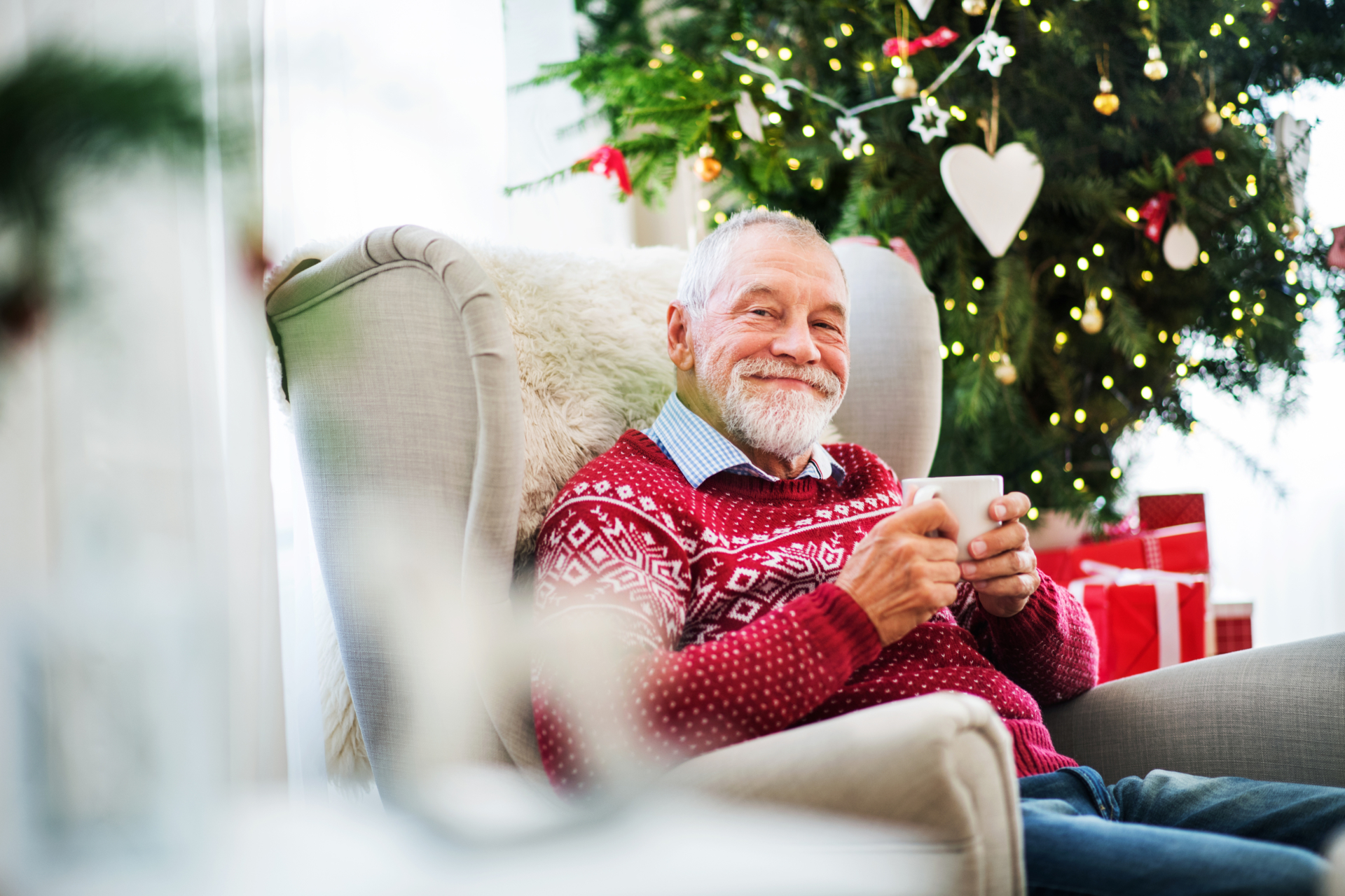 Care homes at christmas time