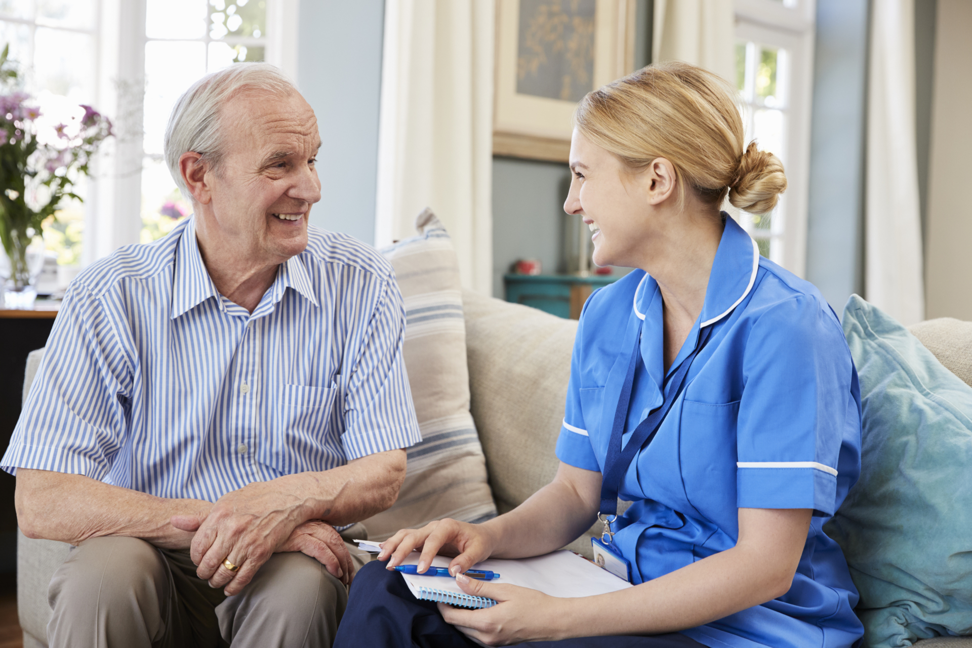 Visting home care services with Fambridge Care